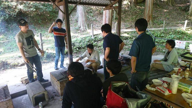 第9回バーベキュー in 油山市民の森 キャンプ場